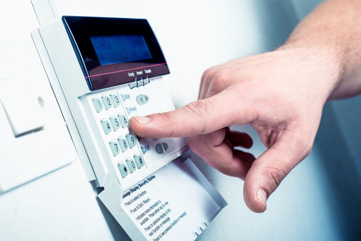 Ev güvenliğiniz için hırsız alarmları.