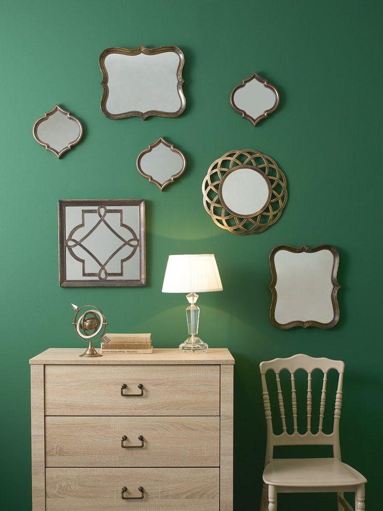 Oturma odası için eklektik dekorasyon tavsiyeleri.