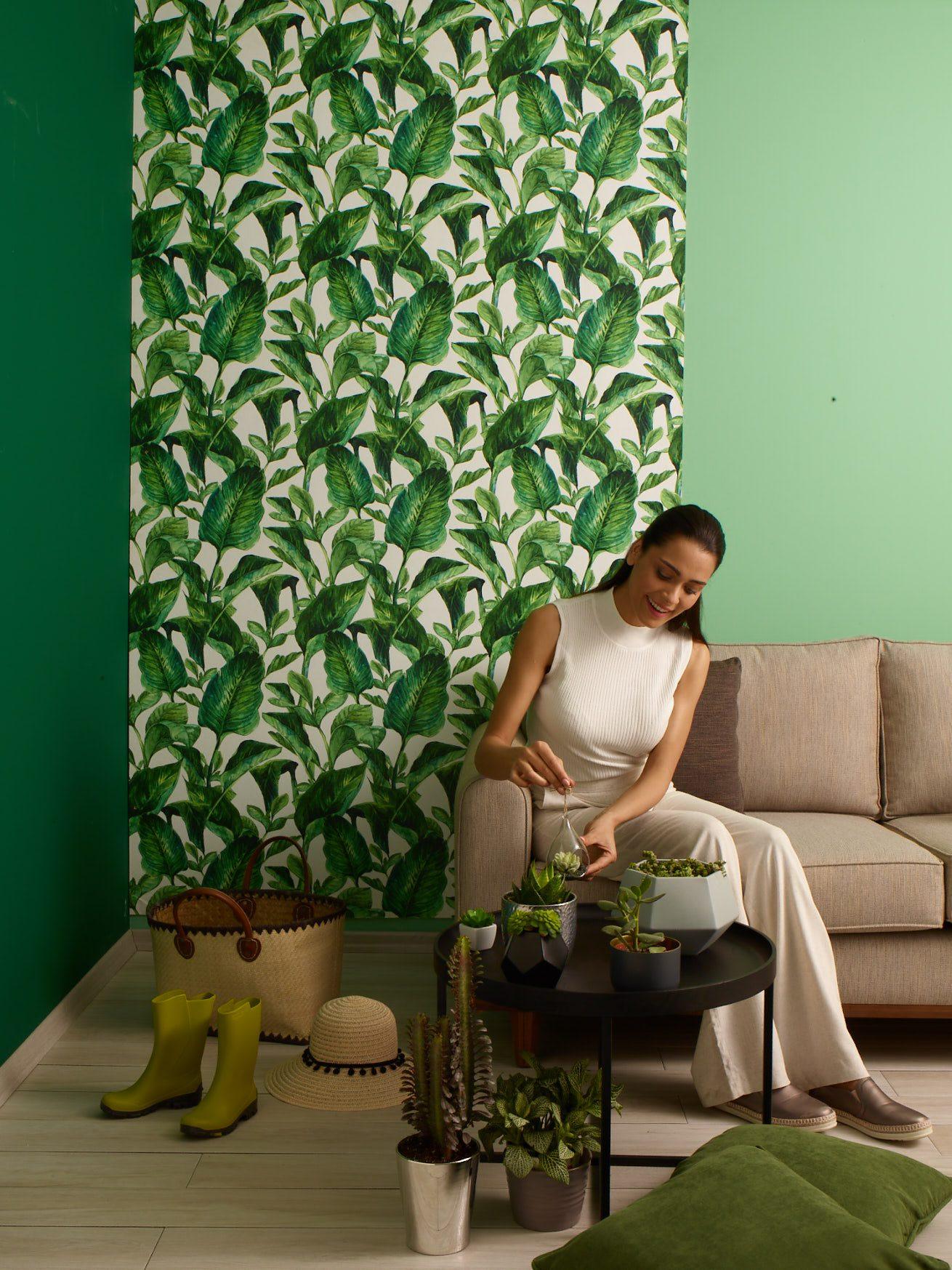Salon ya da oturma odasında kullanılabilen trend renkler.