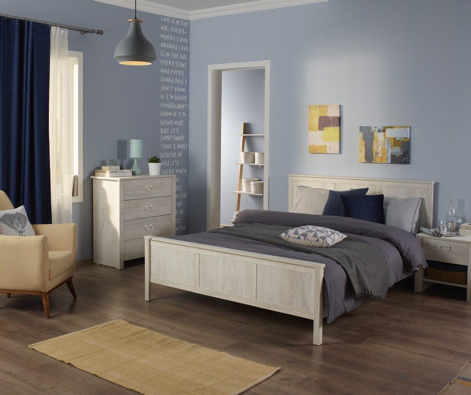 Yatak odalarına yakışan duvar renkleri.