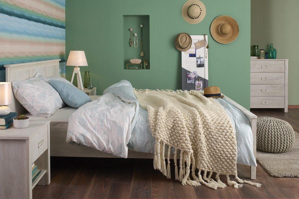 Yatak odasın eklektik dekorasyon nasıl uygulanır?