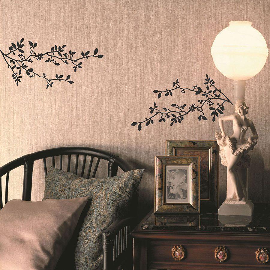 Duvar dekorasyonunda kullanılabilecek duvar sticker'ları.