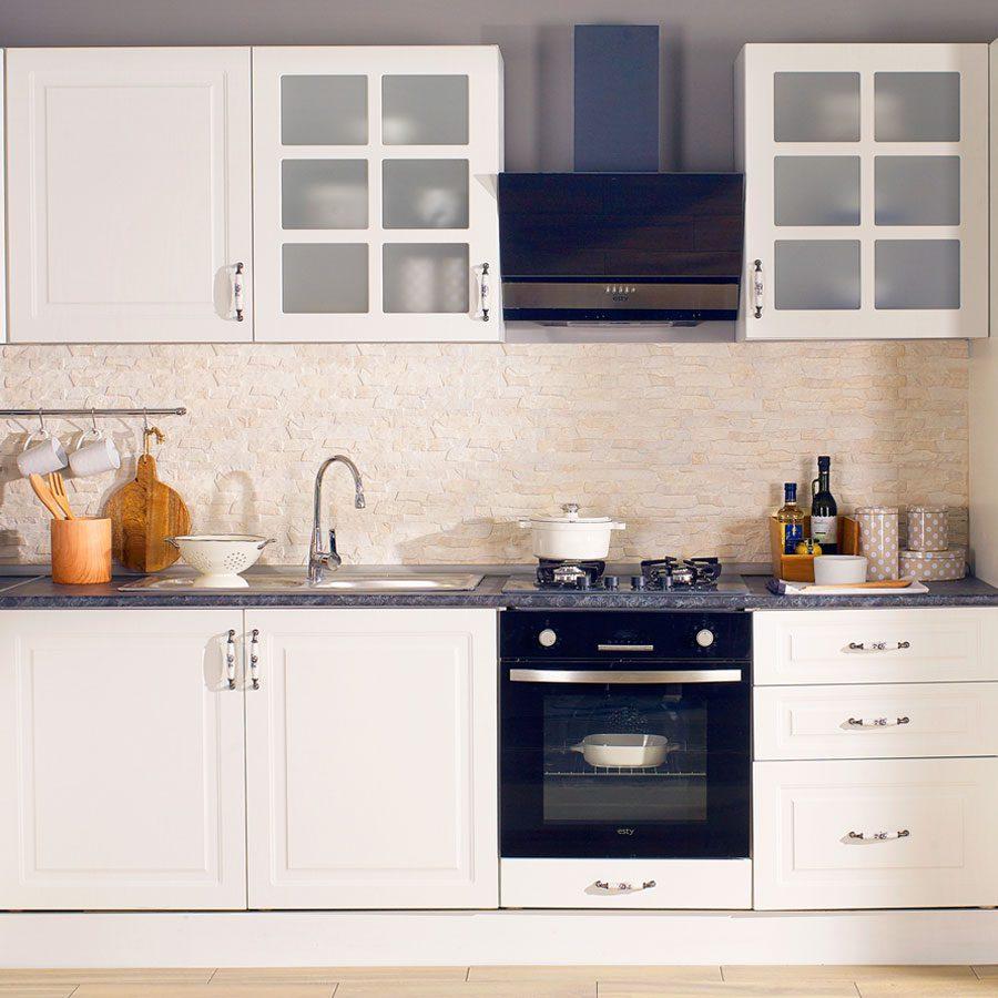 Mutfak yenileme - çeşitli çözümler