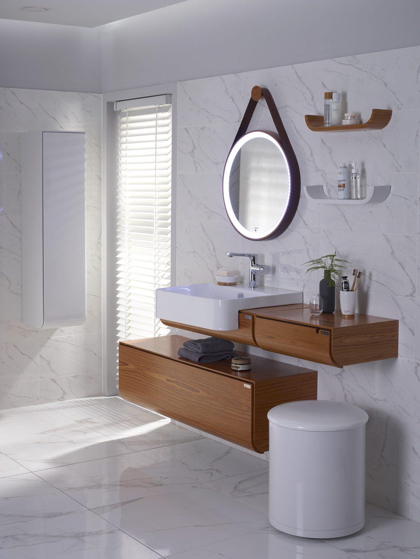 Banyo dekorasyonu için farklı fikirler