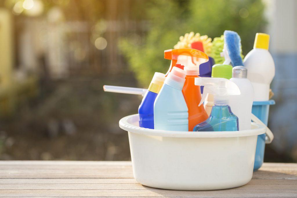 Bahar temizliği için ipuçları.