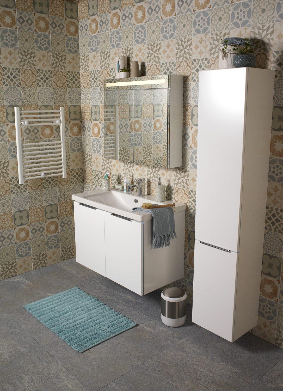 Banyoyu daha düzenli gösterecek kapaklı dolap kullanımı.