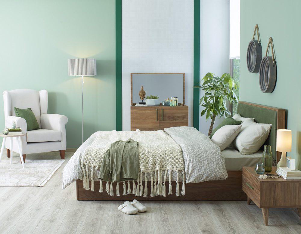 Yatak odaları için sade ve modern dekorasyonlar.