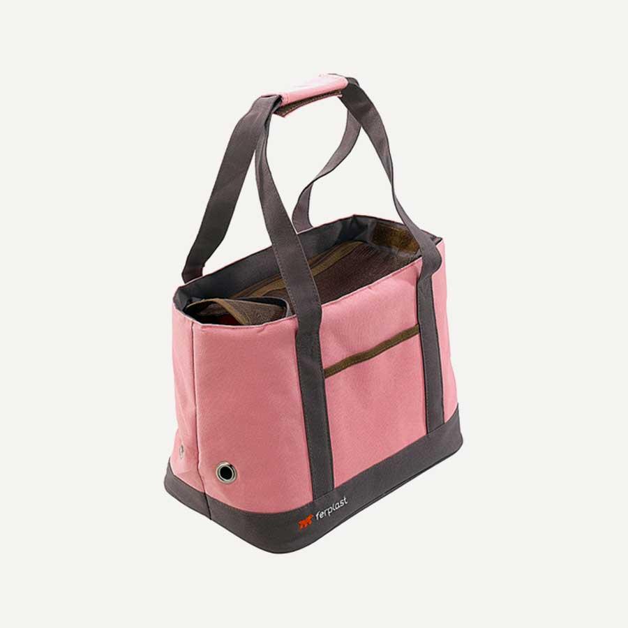 Malibu pembe renk kedi köpek taşıma çantası