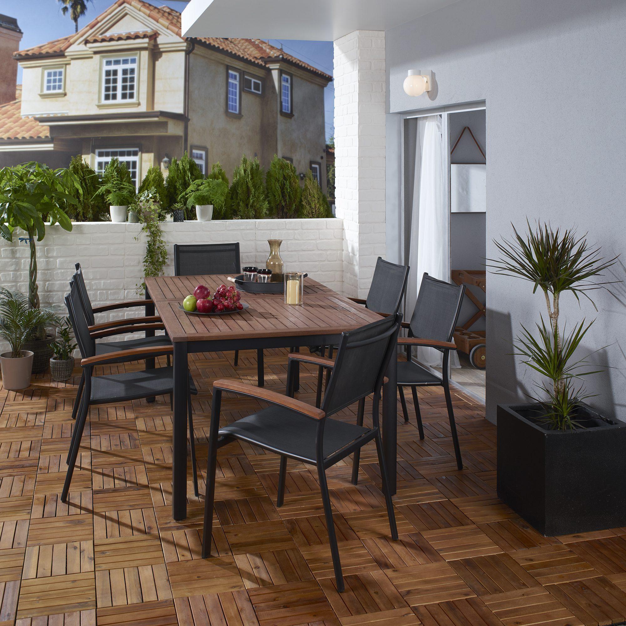 Balkon ve bahçeler için döşeme önerileri.