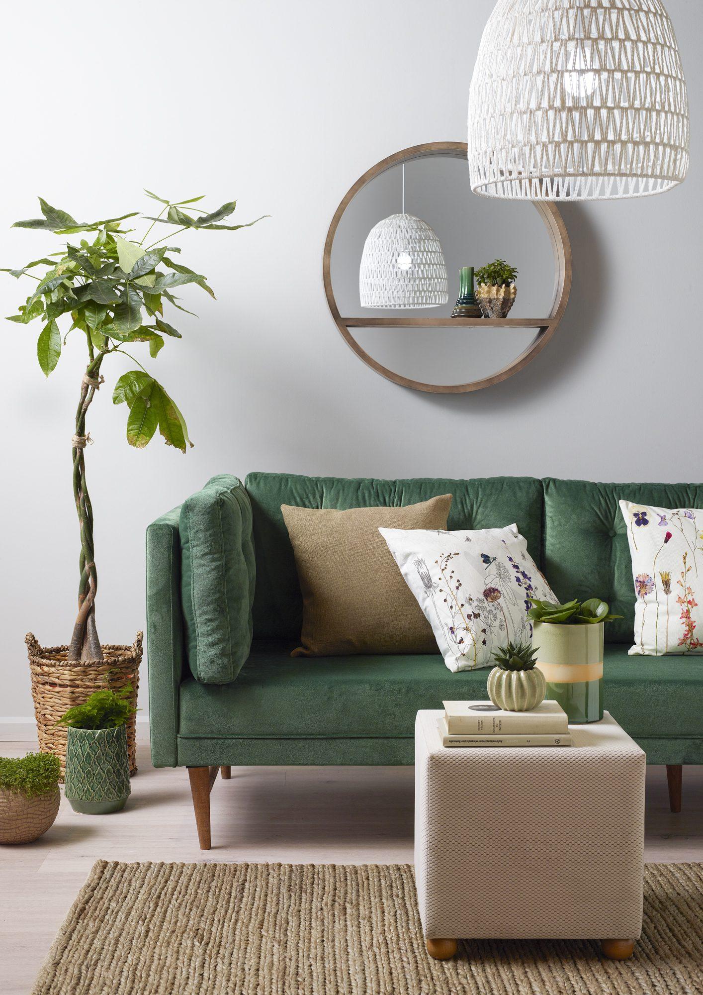 Dekorasyonda hasır mobilya trendi
