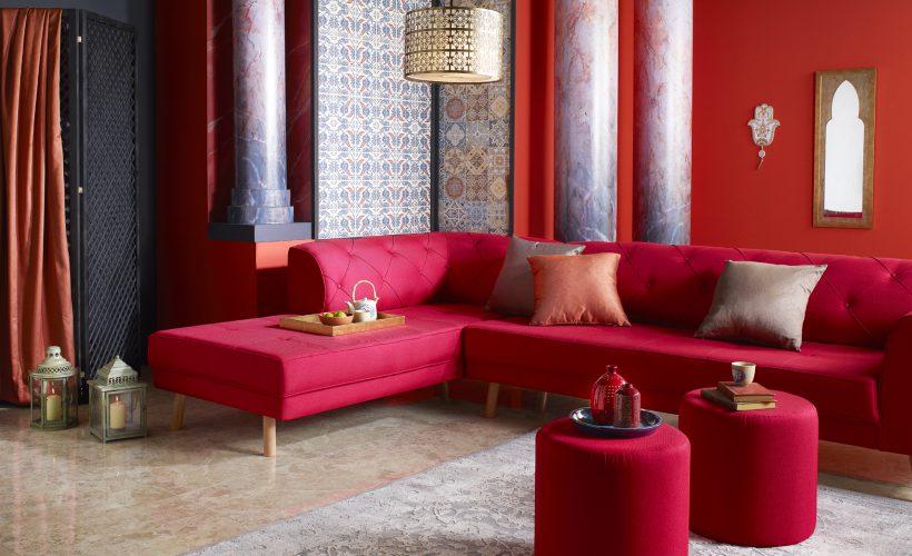 Klasik dekorasyonda Doğu'nun Gizemi.