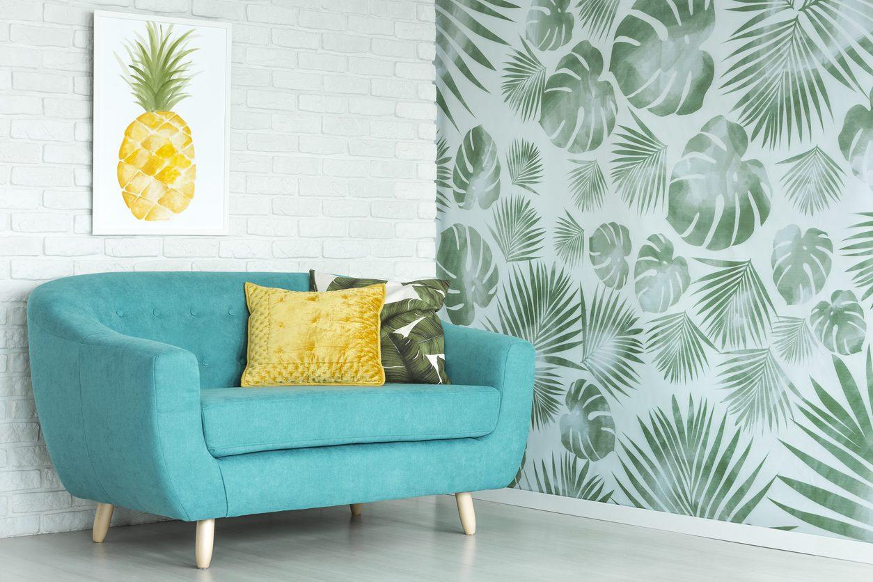 Tropik Kaçış'ta duvar dekorasyonu nasıl olmalı?