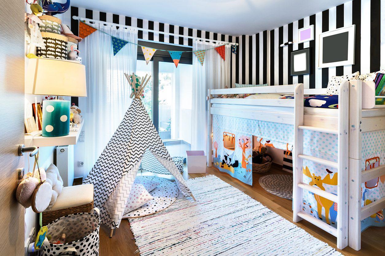 Çocuk Odası Dekorasyonu Fikirileri