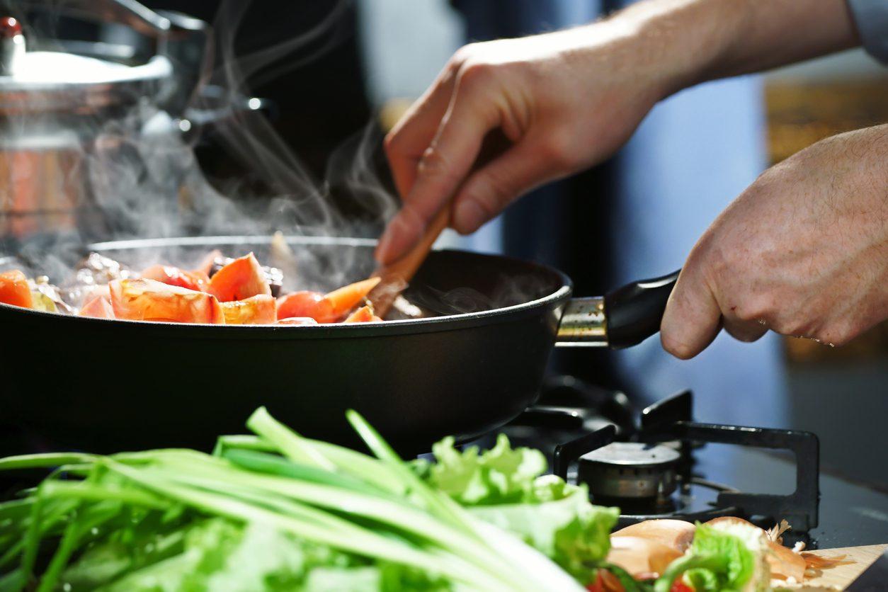 Sofradan bir durak önce: Pişirme