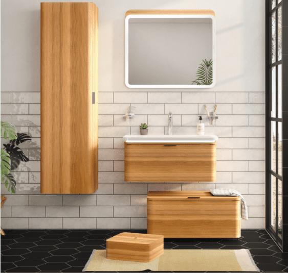 Farklı banyo dolapları