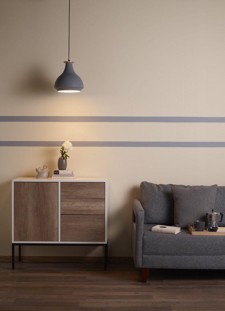 Duvar dekorasyonunda bant tekniği nasıl uygulanır?