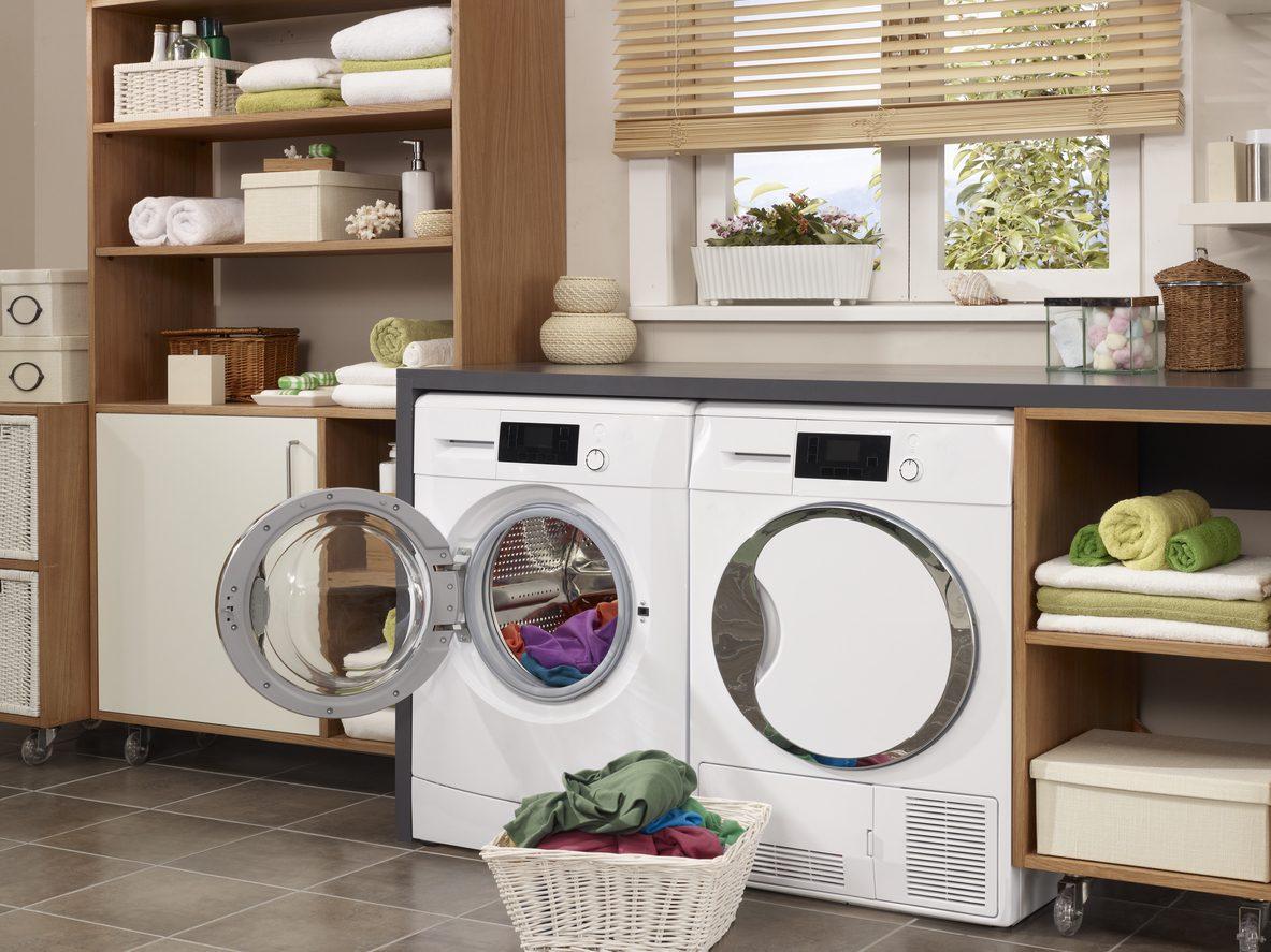 Çamaşır kurutma makinesi evinizdeki hava kalitesini korur.