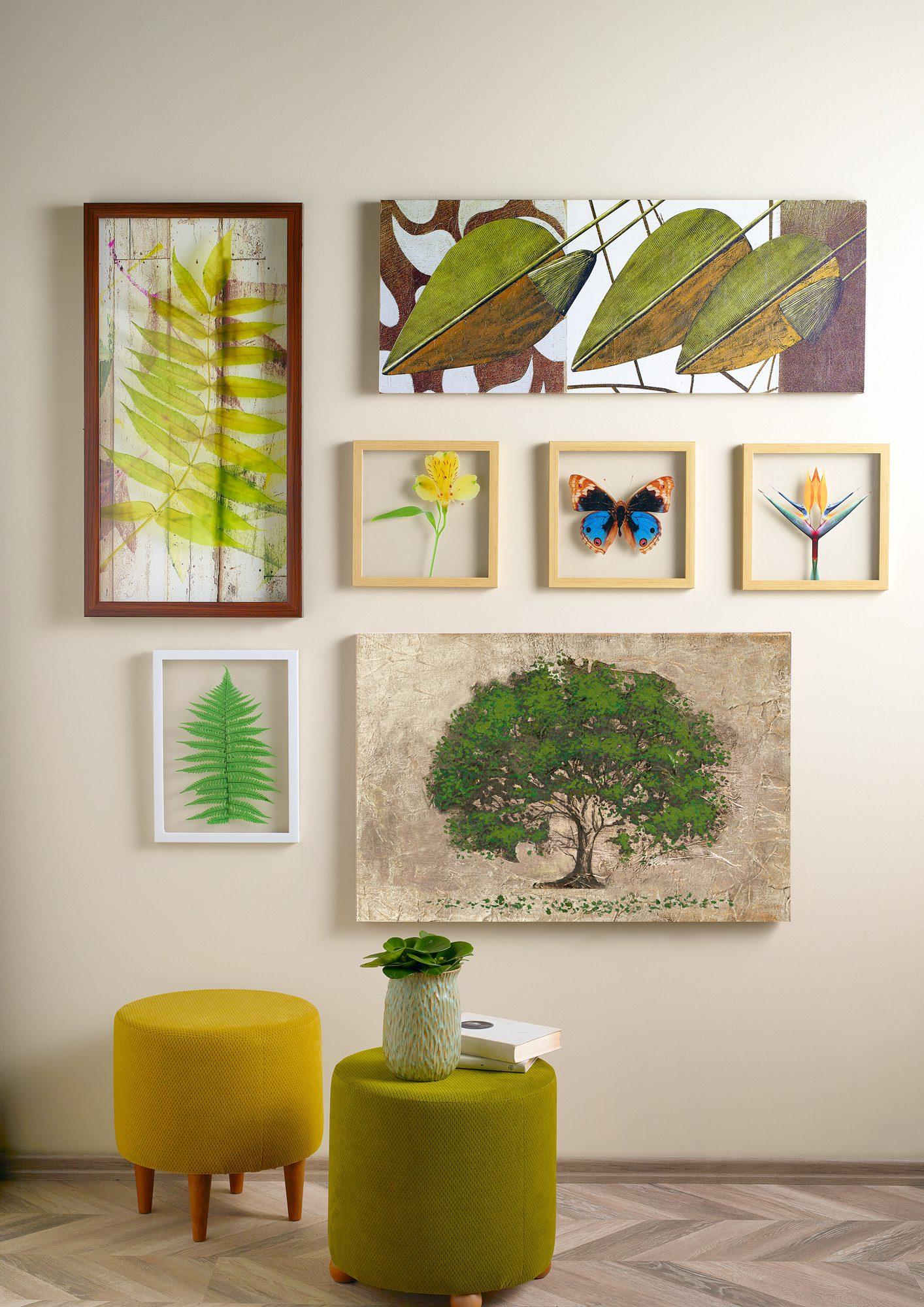 Dekorasyonda tablo kullanımı