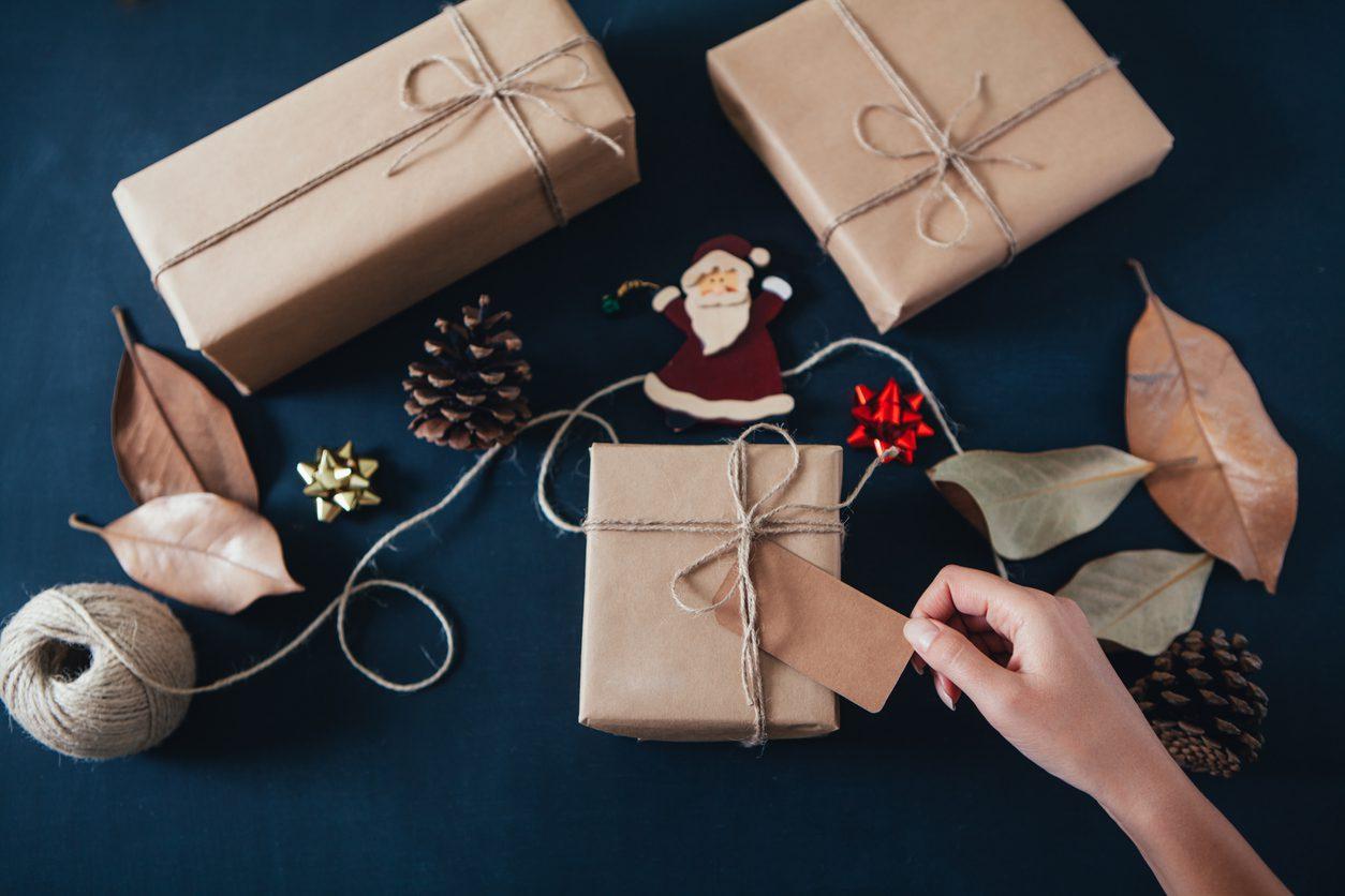 Sade hediye paketi