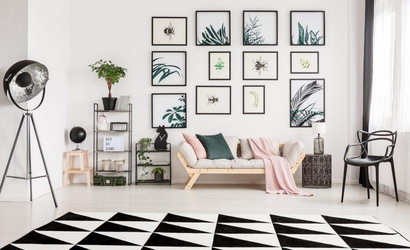 Siyah-beyaz ev dekorasyonu ile ilgili bilinmesi gerekenler