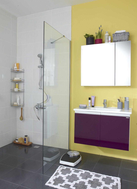 modern renkli banyo
