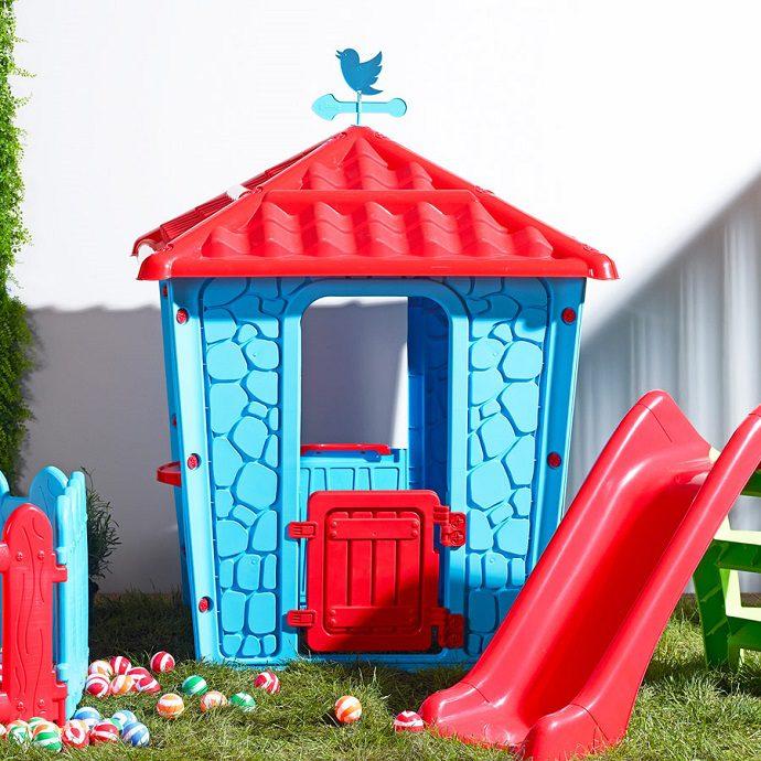 Çocuk Bahçe Malzemeleri Taş Ev