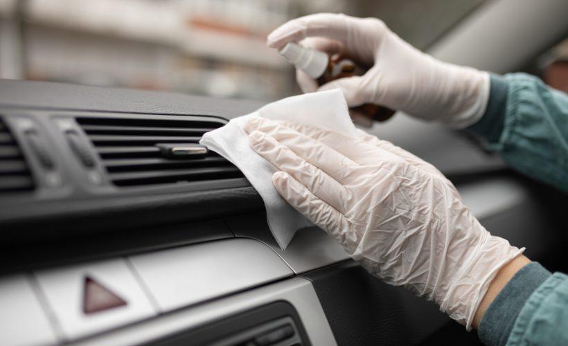 Araba Nasıl Dezenfekte Edilir