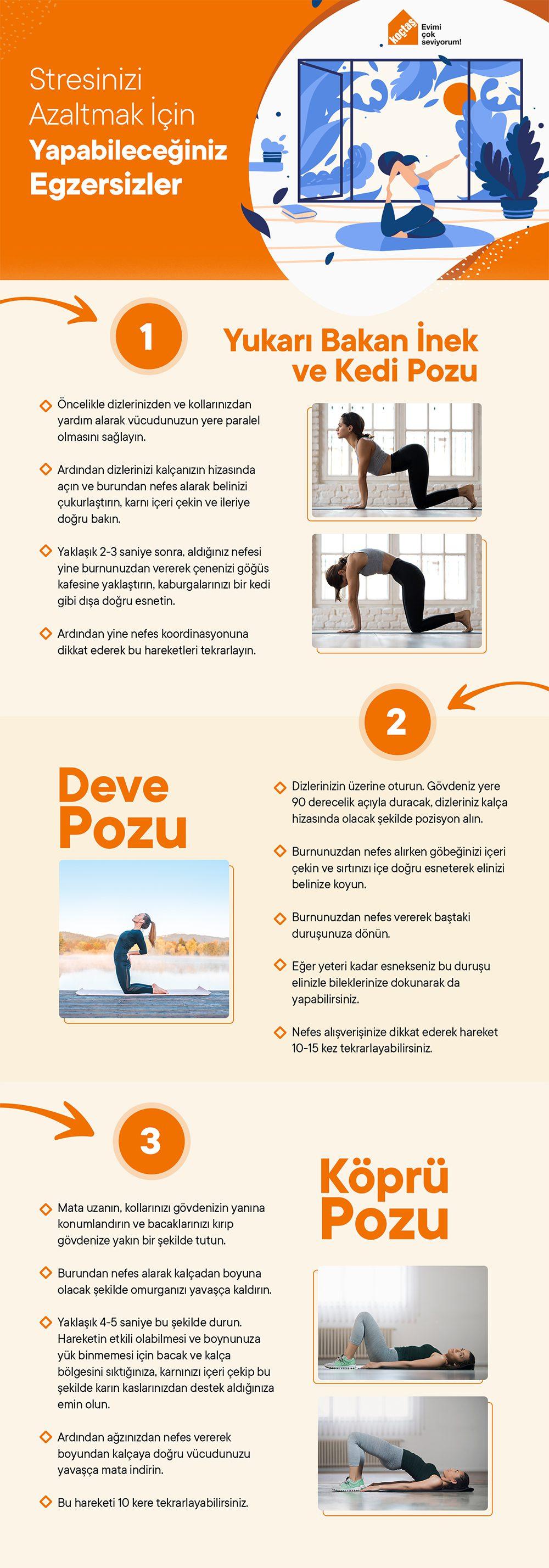 Stresi Azaltmak İçin Egzersizler