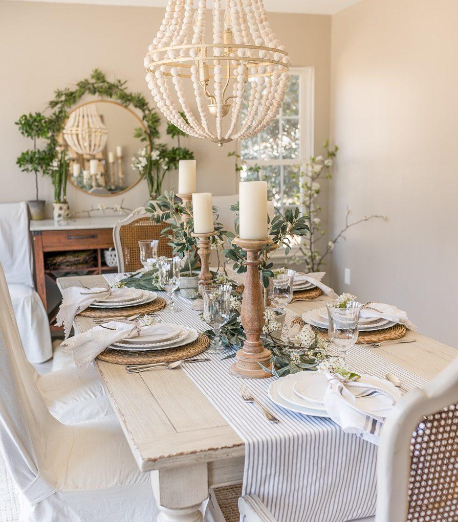 Yemek Masası Dekorasyonu Fikirleri
