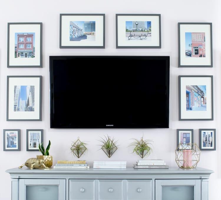 Tv Ünitesi Dekorasyon Ürünleri