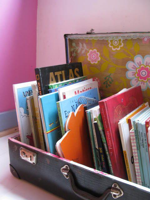 Bavuldan Kitaplık