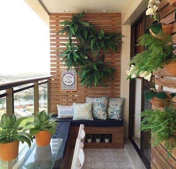 Balkon Duvarı Dekoru