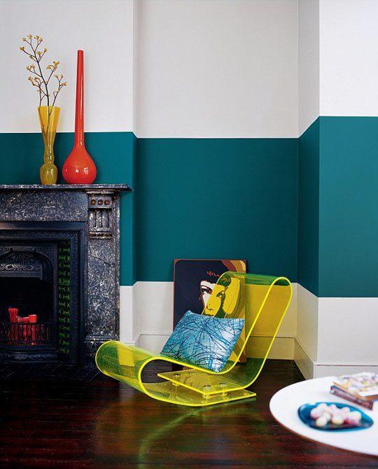 Renkli Duvar Boyama Fikirleri