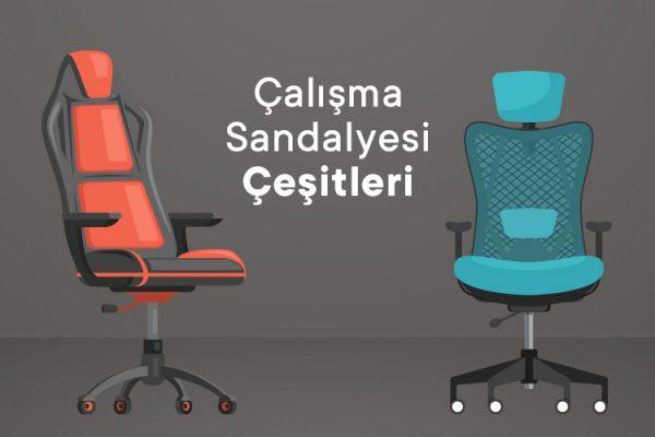 Çalışma Sandalyesi Çeşitleri